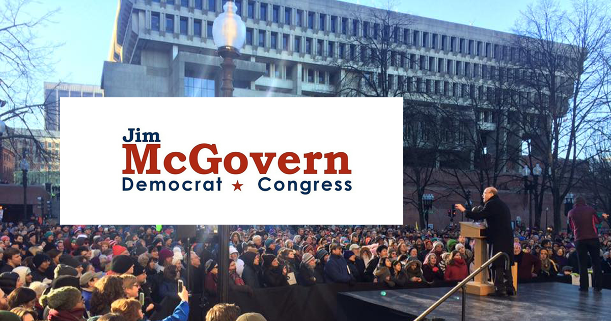 Upcoming Events | Jim McGovern for Congress
