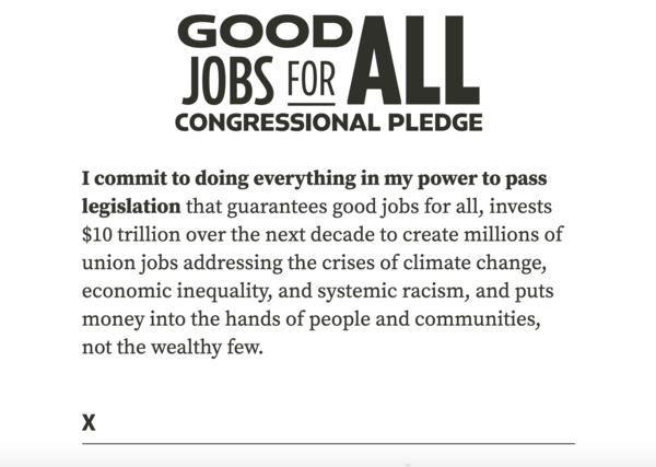 Good Jobs Pledge