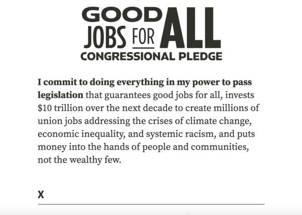 Good Jobs Pledge